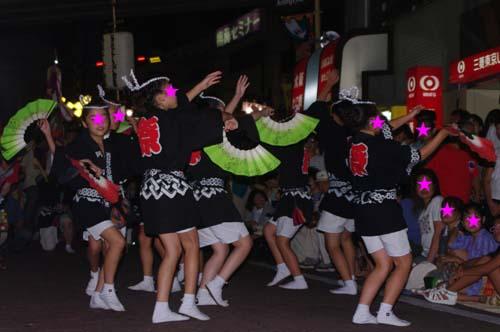町内の阿波踊り大会で見たこと_f0211178_18404049.jpg