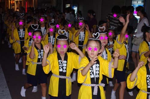 町内の阿波踊り大会で見たこと_f0211178_1840587.jpg