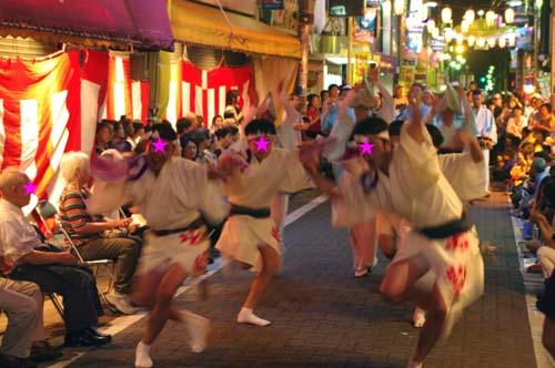 町内の阿波踊り大会で見たこと_f0211178_1841652.jpg