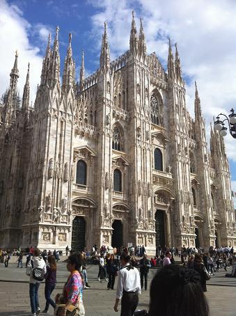 ミラノの旅 1♪_b0105897_1515898.jpg