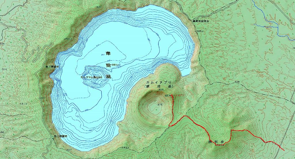 9月14日、西別岳と摩周岳-その2-_f0138096_17292156.jpg