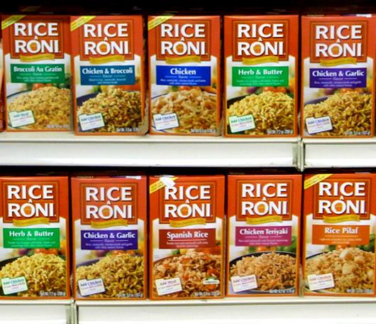 米国の伝統的な家庭用お米製品、ライス・ア・ローニ(Rice-A-Roni)_b0007805_23523984.jpg
