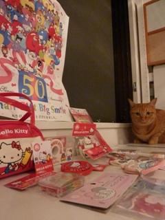 サンリオ50周年猫 しぇる編。_a0143140_22343290.jpg