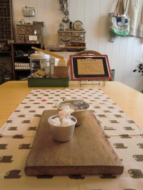 本日のoneday cafe。_a0164280_20372338.jpg