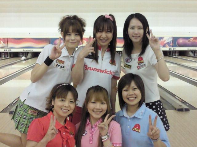 吉田真由美プロ with GRANDBOWL PROBOWLERS!_d0156990_18153827.jpg