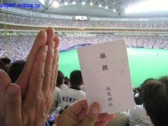 2010ペナントレース最終観戦・・・_c0134734_21345215.jpg