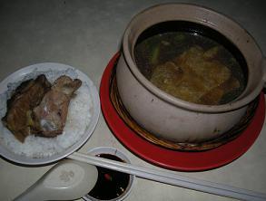 ゲイランのCafe25で肉骨茶、開いててよかった_c0030645_21403222.jpg
