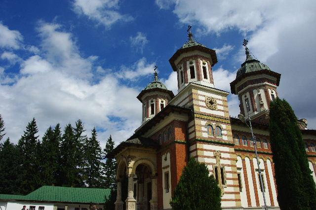 ルーマニア(15) シナイア修道院_c0011649_623212.jpg