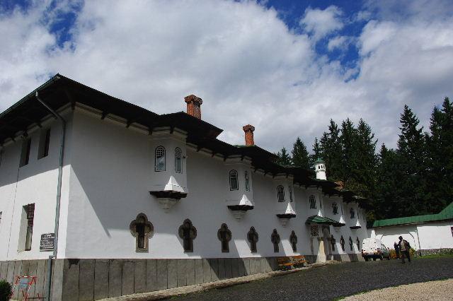 ルーマニア(15) シナイア修道院_c0011649_6334561.jpg