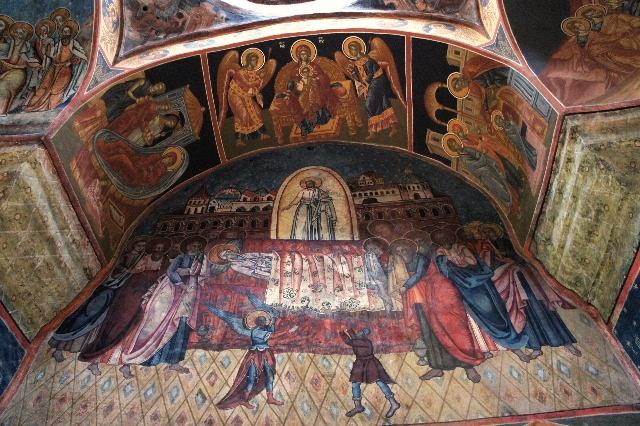 ルーマニア(15) シナイア修道院_c0011649_7372532.jpg
