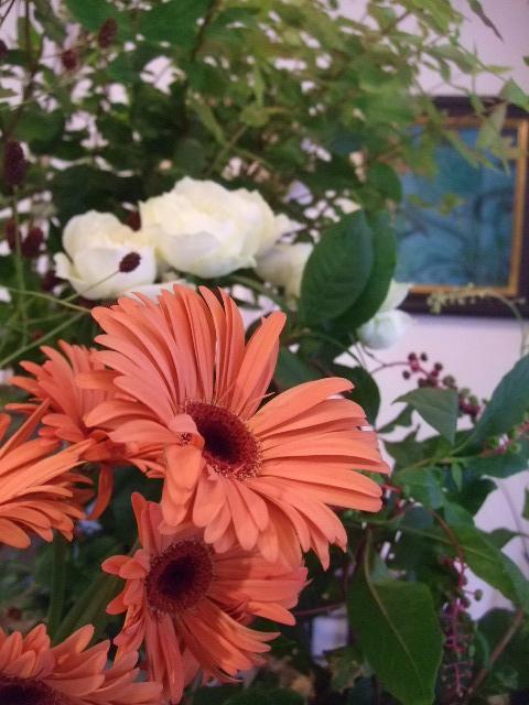 オークリーフ(秋、コスモスの花)_f0049672_17264688.jpg