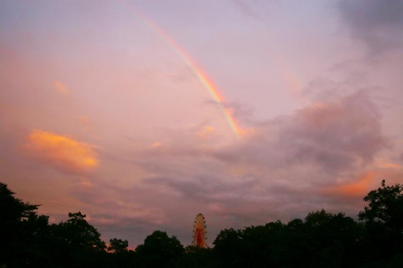 虹の夕焼け_f0180878_10424391.jpg