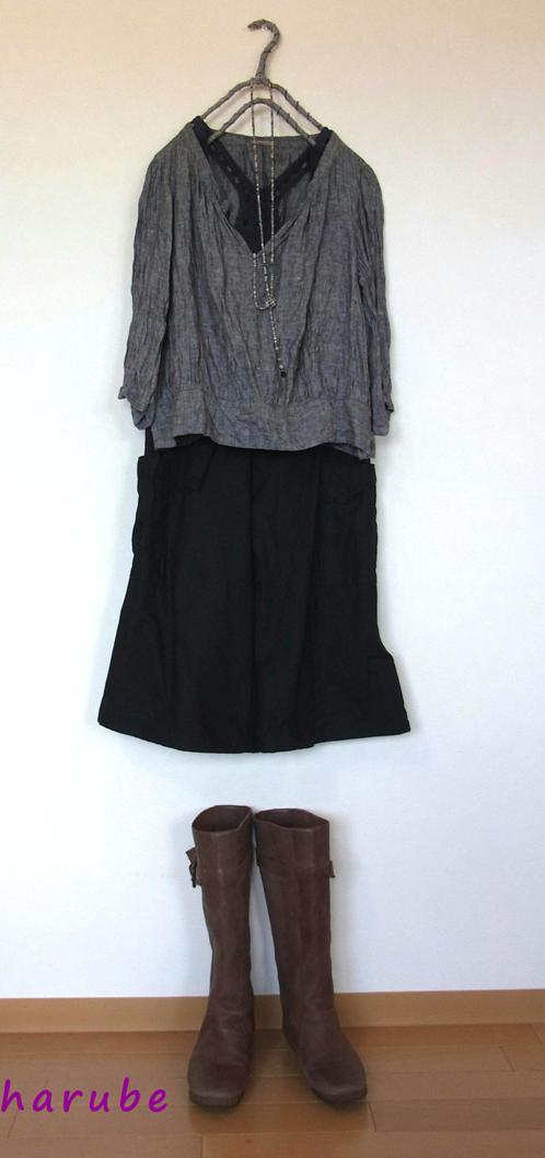黒のコートと・・・_a0152283_21354587.jpg