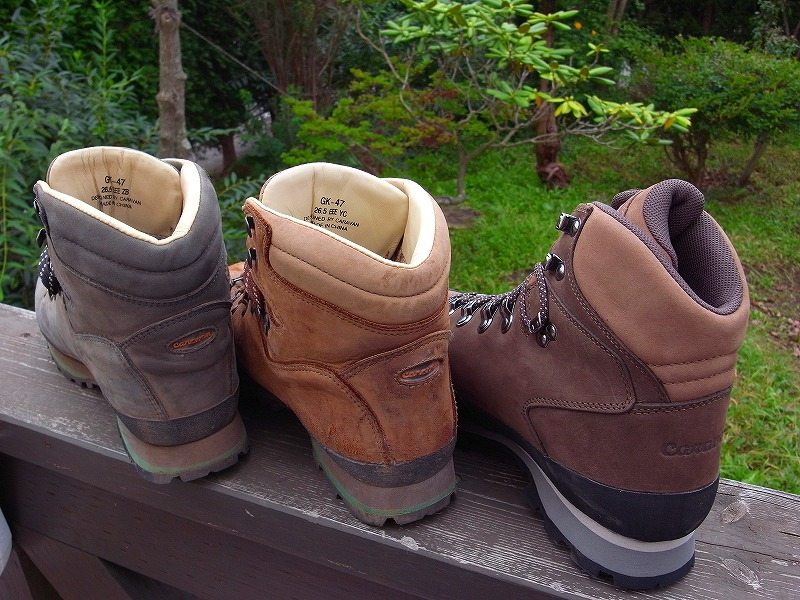 キャラバンの登山靴GK-69_f0138096_1125508.jpg