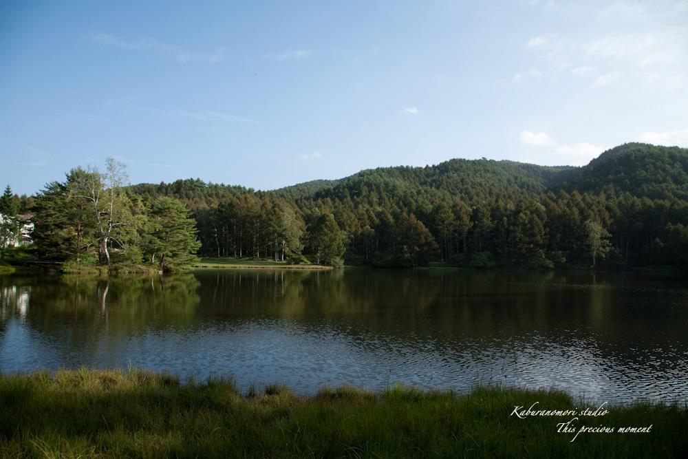 小さな湖畔_c0137403_1749194.jpg