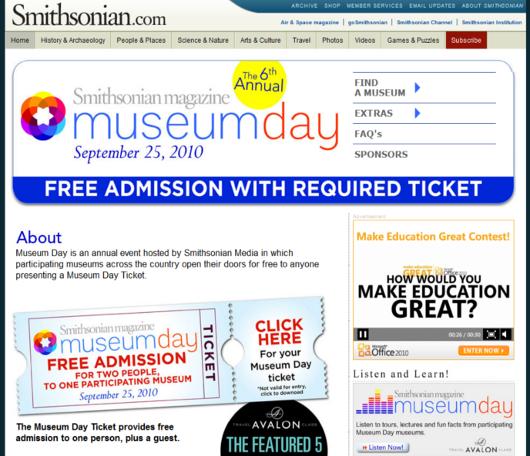 2010 Smithsonian Magazine Museum Day_b0007805_13322717.jpg