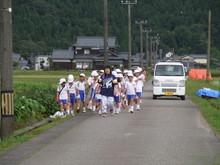 北新庄小学校3年生の子供達が枝豆収穫を体験しました_e0061225_10254426.jpg