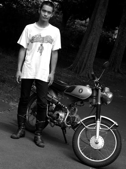 5COLORS 『 君はなんでそのバイクに乗ってるの?』#26_f0203027_1972621.jpg