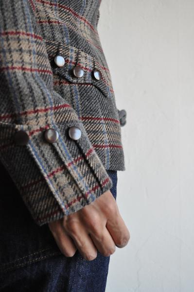 HAVERSACK/ハバーサック レディース Check Tweed Jacket