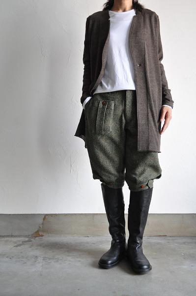 HAVERSACK/ハバーサック レディースパンツHerringbone Tweed 5/5-Pants<br />