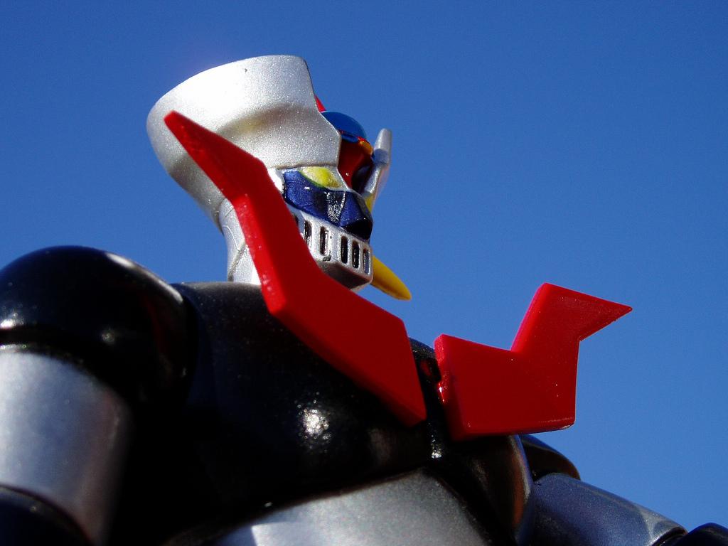 マジンガーZ が握る寿司ロボットが香りんに搬入!_c0110051_11344480.jpg