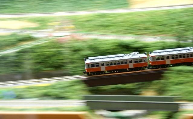 箱根登山鉄道模型のジオラマ_b0145398_20145933.jpg