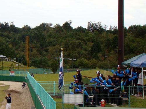 少年野球大会閉会式で演奏♪_a0047200_2131929.jpg