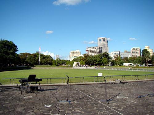 ボランティアフェスティバル、つながりコンサートin平和公園_a0047200_9412075.jpg