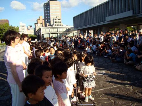 ボランティアフェスティバル、つながりコンサートin平和公園_a0047200_9412689.jpg