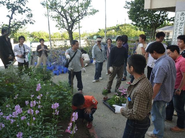 小学校ボランティア&草引き_b0054727_18223842.jpg