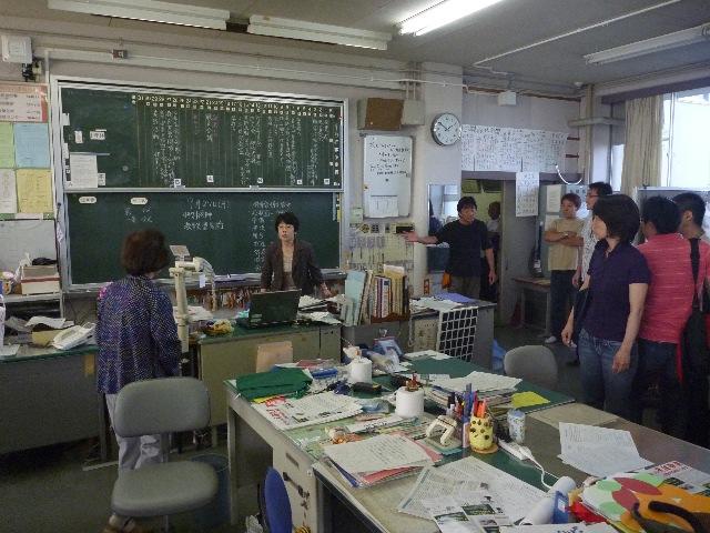 小学校ボランティア&草引き_b0054727_18302526.jpg