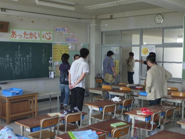 小学校ボランティア&草引き_b0054727_1834583.jpg
