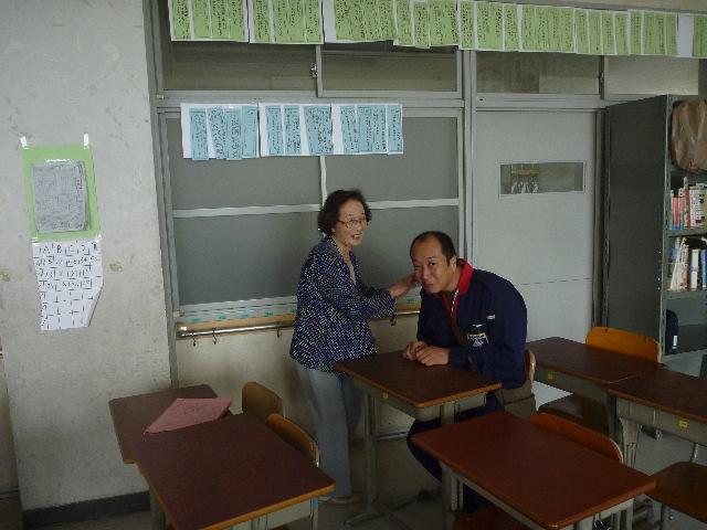 小学校ボランティア&草引き_b0054727_1836660.jpg