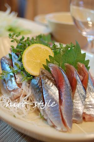 秋刀魚の誘惑*_c0128886_755391.jpg
