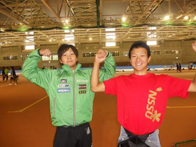 専修大学スピードスケート部主将:蓑田翔選手インプレッション! _c0003493_10171153.jpg