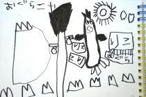 月の祭り展最終日@古民家ギャラリーかぐや~横浜アート動物園最終日@MOONCAT_f0006713_830218.jpg