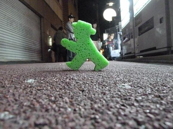 アンペルマン、東京を歩く。_c0180686_2245892.jpg