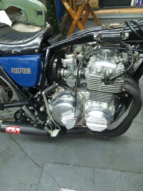 CB400F エンジン不調・・・キャブオーバーホール。その3_a0163159_23444951.jpg