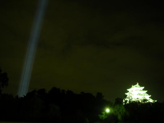 名古屋城ライトアップ☆_d0178891_22265771.jpg