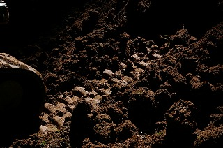 壁土の採取_f0060500_16203474.jpg