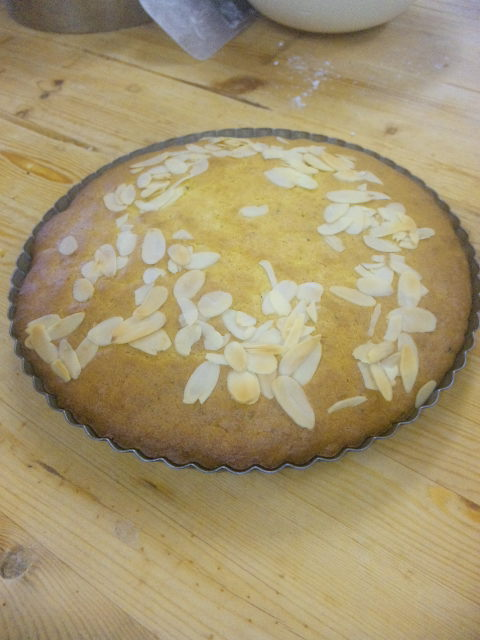 カボチャのケーキ焼けました。_a0072505_821840.jpg