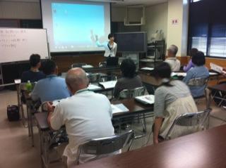 日知屋公民館講座が始まりました。_c0200506_16585939.jpg