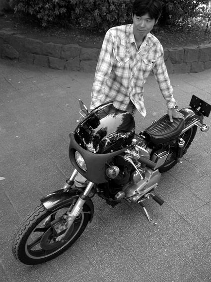 江口 昇 & Harley-Davidson XLCH(2010 0905)_f0203027_1091950.jpg