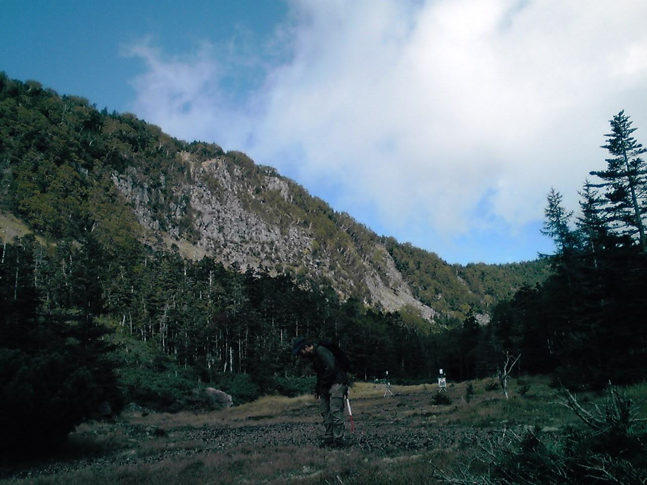 稲子岳&凹地へ!_e0155231_20132742.jpg
