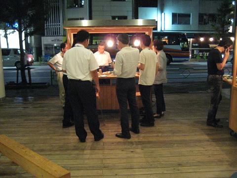 日南市長 ウチダラ洋行に行く_f0138874_024661.jpg