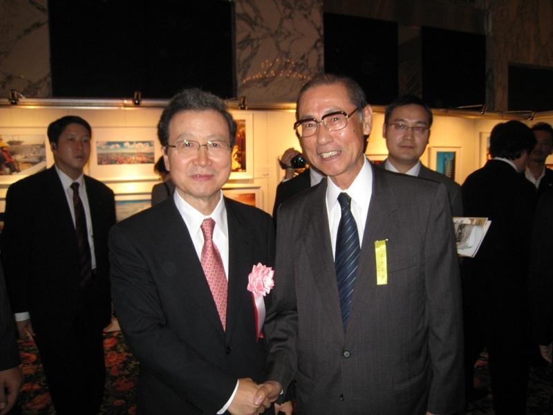 程永华大使与来宾进行了广泛的交流_d0027795_238648.jpg