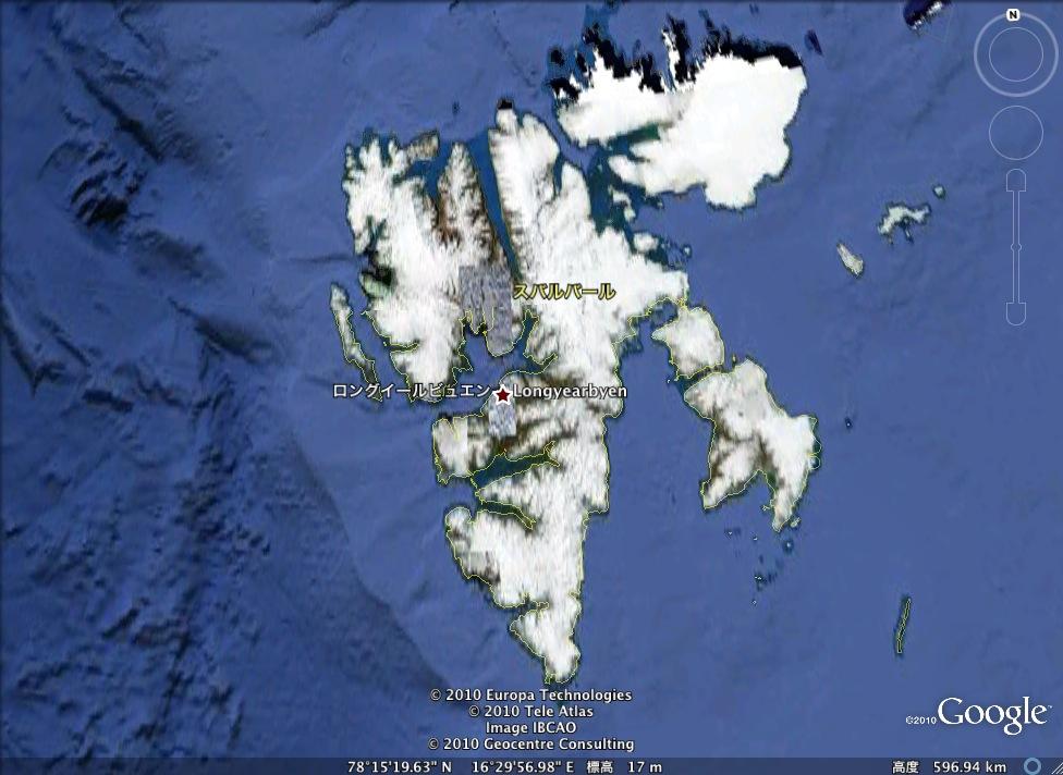 北極海にあるエイリアン基地!?:だれか探検してみないか?_e0171614_92475.jpg