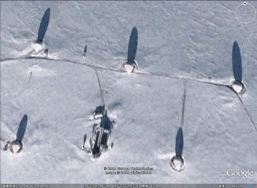 北極海にあるエイリアン基地!?:だれか探検してみないか?_e0171614_9285250.jpg