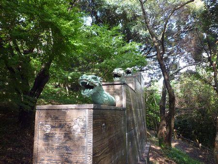 恵蘇八幡宮(4)こんな所に漏刻(水時計)があったよ_c0222861_1123120.jpg