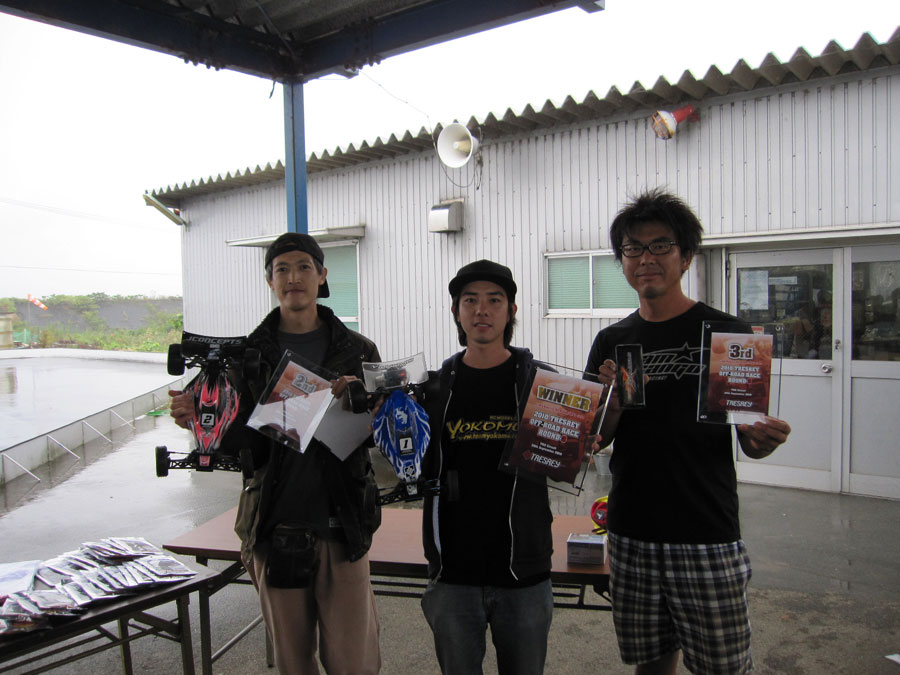 TRESREY OFF‐ROAD RACE ROUND‐3 レポート 鶴田絢史_e0166663_10403811.jpg